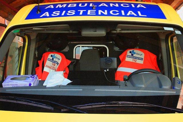 Ambulancia asistencial.