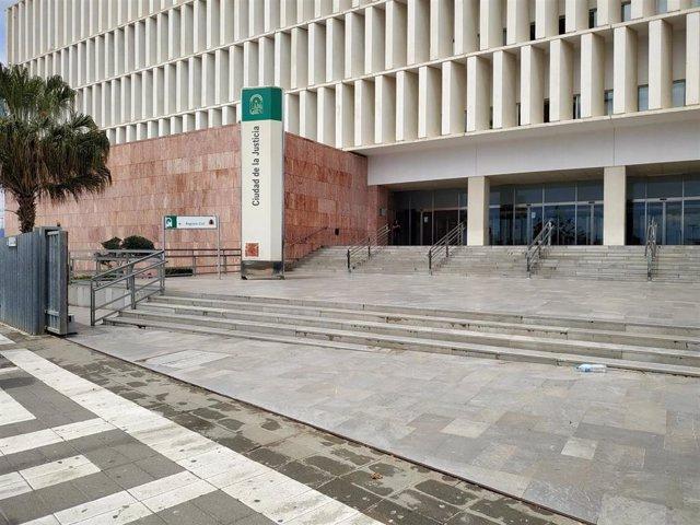 Ciudad de la Justicia de Málaga. Fachada