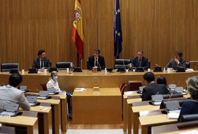 Reunión de la Comisión de Reconstrucción