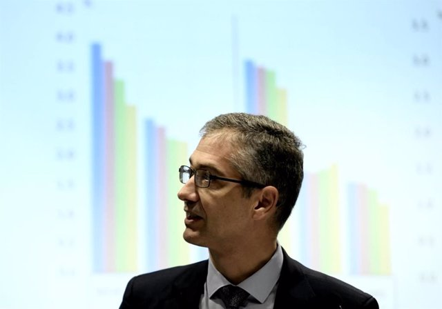 El presidente del Banco de España, Pablo Hernández de Cos, en una imagen de archivo