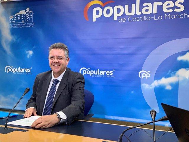 El diputado del Partido Popular en las Cortes de Castilla-La Mancha Juan Antonio Moreno