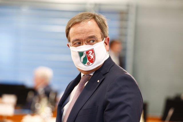El primer ministro de Renania del Norte-Westfalia, Armin Laschet