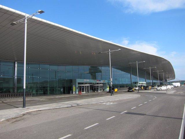 Terminal T1 Aeroport del Prat de Barcelona.