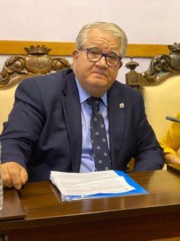 El concejal de Grupo Municipal del Partido Popular en el Ayuntamiento de Jaén, Javier Carazo