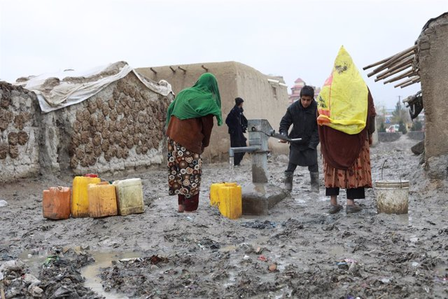 Desplaçats en Kabul