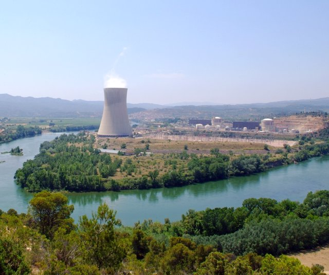 La central nuclear Ascó II (Tarragona)