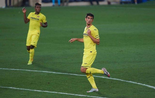 Gerard Moreno y Samuel Chukwueze durante un partido del Villarreal