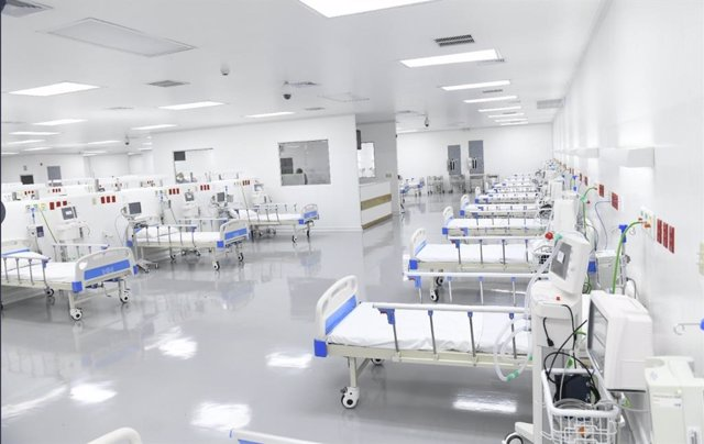 Hospital El Salvador, destinado en exclusiva a tratar pacientes con la COVID-19.