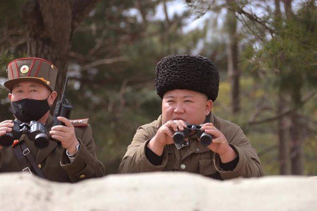 El líder de Corea del Norte, Kim Jong Un.