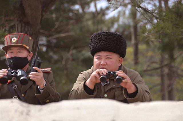 """Corea.- Pyongyang confirma que ha realizado """"con éxito"""" un prueba con un lanzaco"""