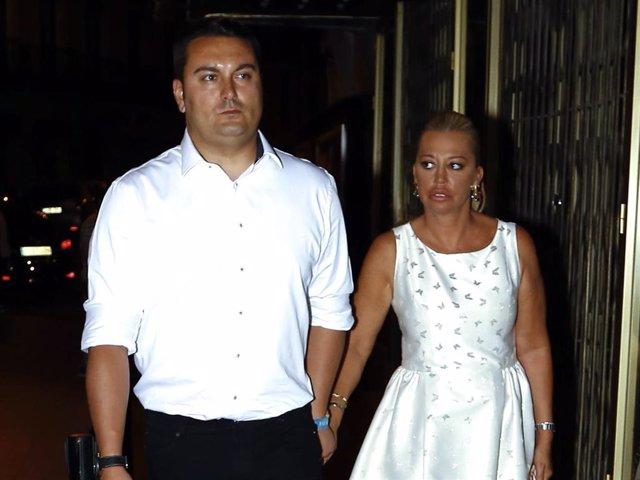 Miguel Marcos y Belén Esteban