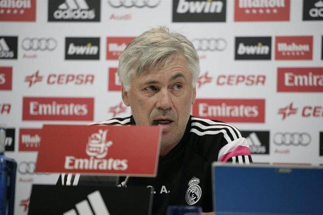 Imagen de recurso de Carlo Ancelotti, exentrenador del Real Madrid.
