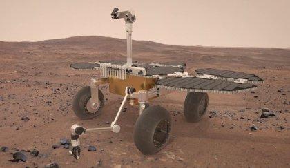 Sample Fetch Rover, el recogedor de tubos de muestra de Marte para la Tierra