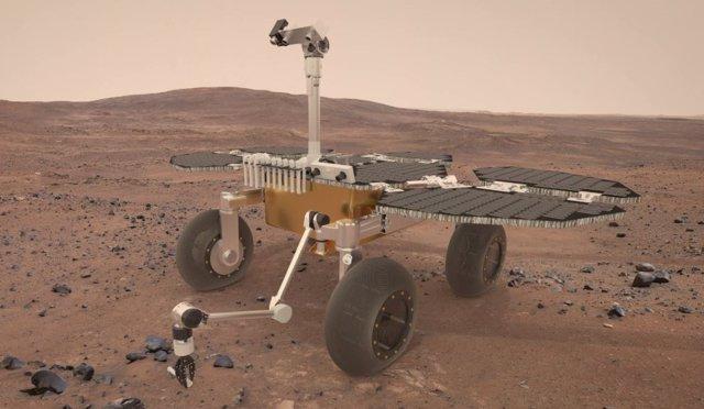 Concepto del Sample Fetch Rover