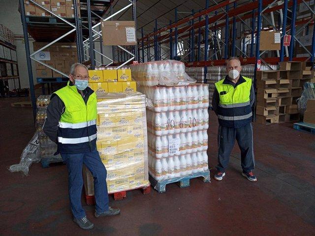 """Cvirus.- La Federación de Bancos de Alimentos agradece el """"extraordinario apoyo"""""""