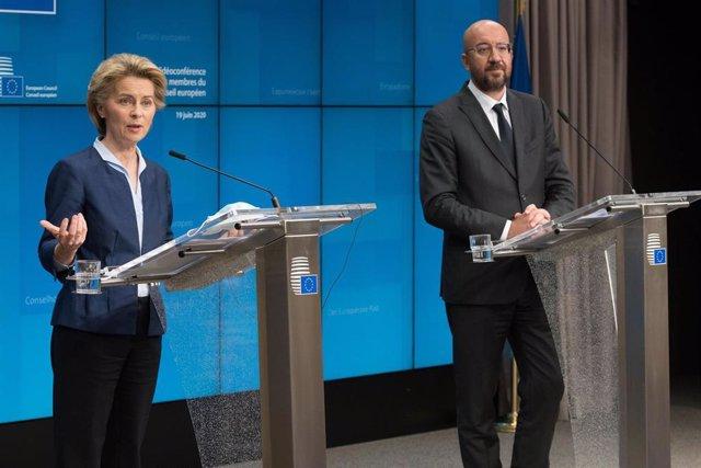 Ursula Von der Leyen y Charles Michel