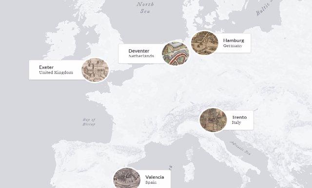 Se investigan los usos políticos, sociales y culturales del espacio público en ciudades como Exeter, Hamburgo, Deventer, Trento y València