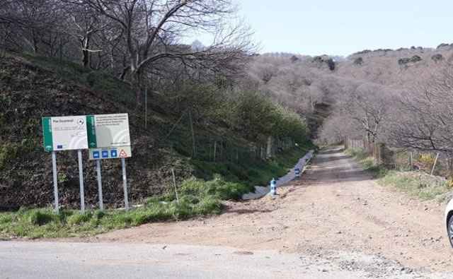 Camino rural de Pujerra a Jubrique (Málaga)