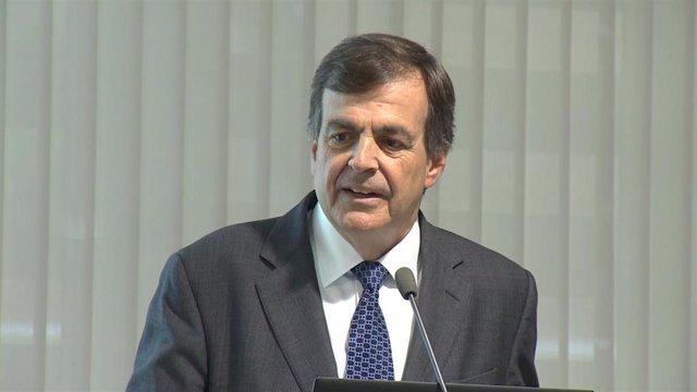 El presidente de Promarca, Ignacio Larracoechea
