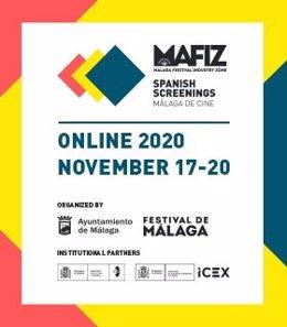 Cartel de Spanish Screenings 2020 que se celebra en formato online del 17 al 20 de noviembre