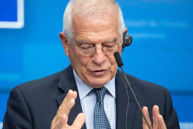 El Alto representante de la Unión para Asuntos Exteriores y Política de Seguridad, Josep Borrell.