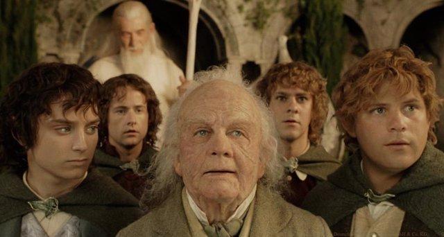 Bilbo Bolsón en El retorno del Rey