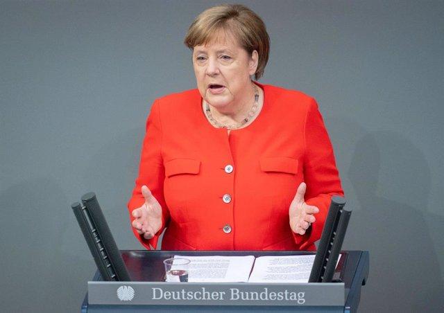 Alemania.- Merkel critica duramente los disturbios registrados durante el fin de