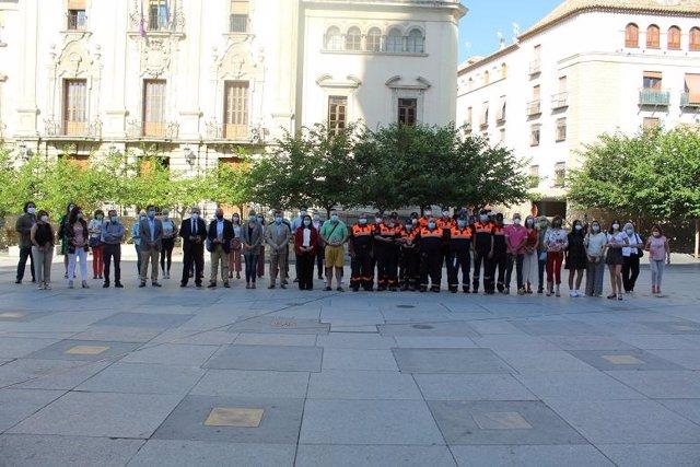 Personas y entidades a las que el Ayuntamiento de Jaén ha reconocido su valor durante la crisis sanitarias del covid-19