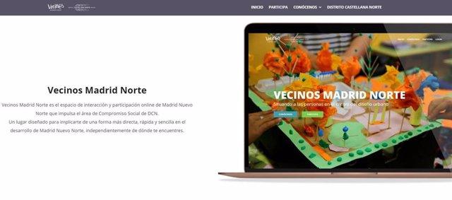 Nueva plataforma online VecinosMadridNorte.Com