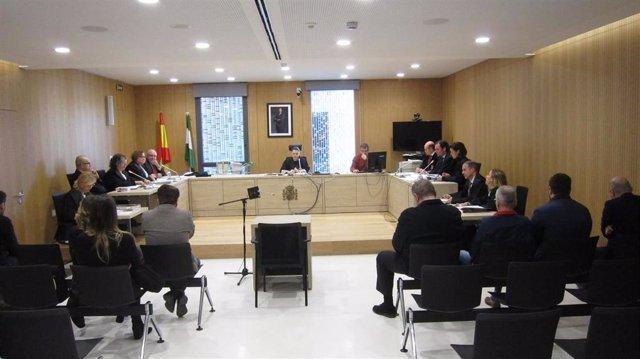 Celebración del juicio de los cursos de formación de la Junta en Córdoba.