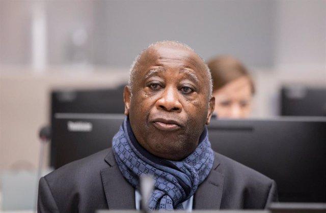 El expresidente de Costa de Marfil Laurent Gbagbo comparece ante el TPI