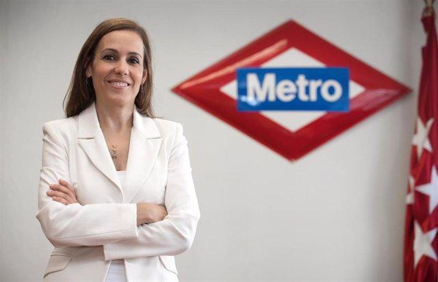 Imagen de recurso de la consejera delegada de Metro de Madrid, Silvia Roldán.