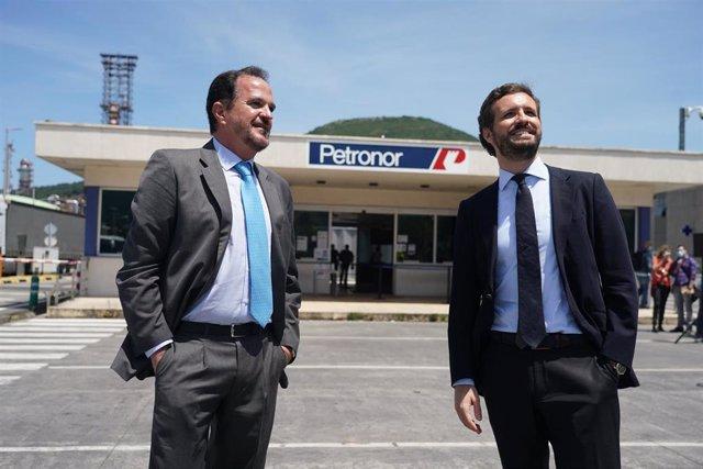 Pablo Casado viaja a Muskiz (Vizcaya) para apoyar a Iturgaiz