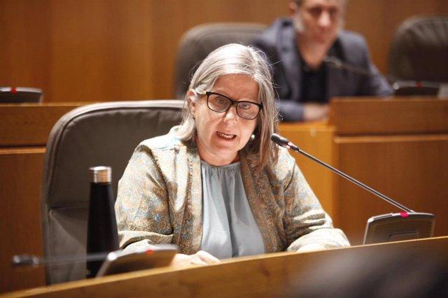 La diputada de Ciudadanos en las Cortes de Aragón Beatriz García.