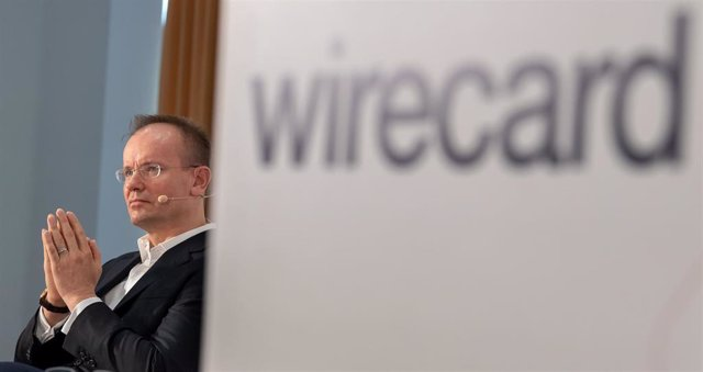 25 April 2019, Bavaria, Aschheim: Markus Braun, CEO of Wirecard, attends the balance sheet press conference of the payment service provider. Photo: Peter Kneffel/dpa