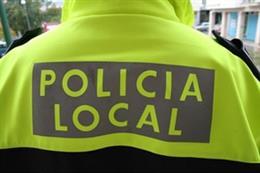 Agente de Policía Local en imagen de archivo