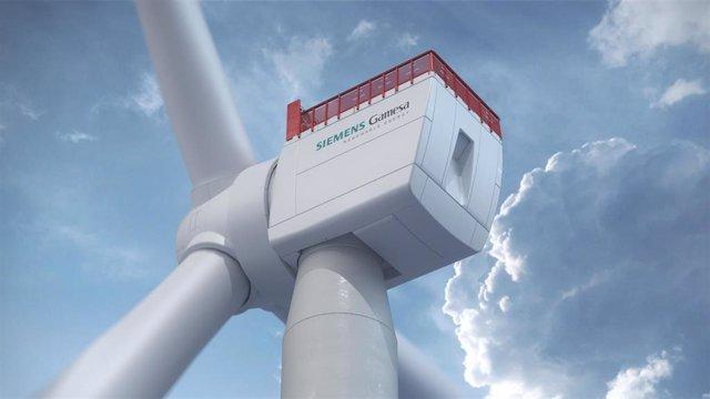 Turbina de 14 MW de Siemens Gamesa