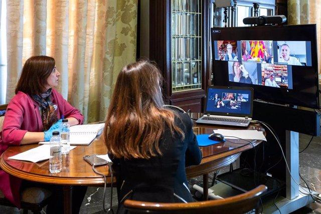 Coronavirus.- Zaragoza-. La Junta de Portavoces se reunirá cada viernes de forma telemática durante el confinamiento