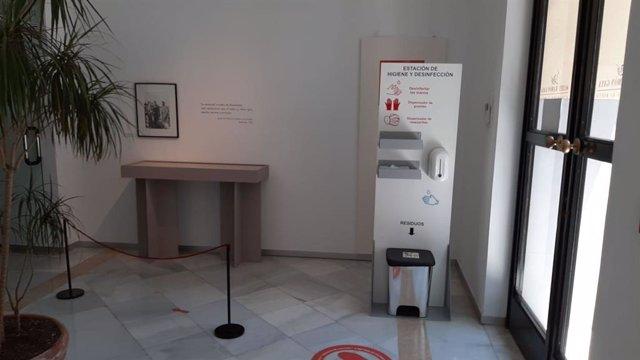 Medidas higiene frente al Covid-19 en el Museo Ramón Gaya