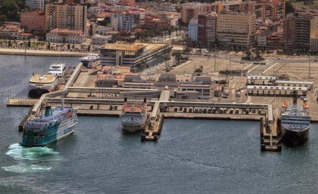 Puerto De Algeciras. Tráficos Mayo