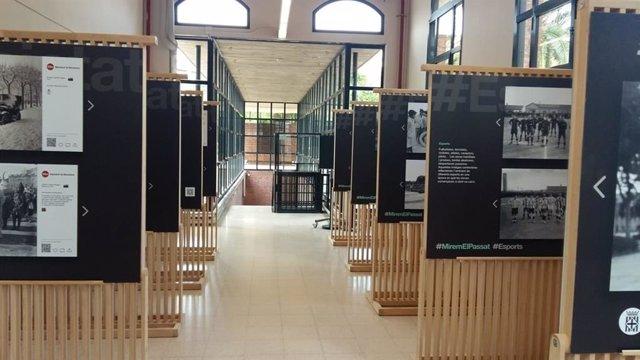 Exposición 'Mirem El Passat' de la Diputación de Barcelona.