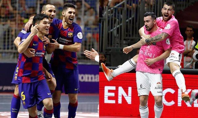 Barça y Viña Albali Valdepeñas se citan en la final de Copa