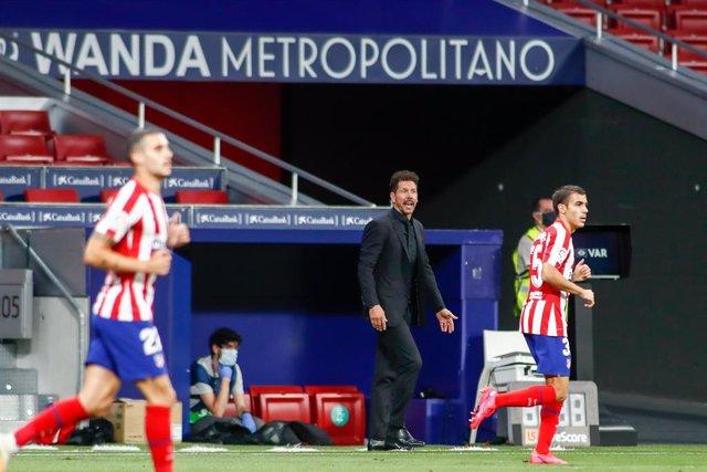"""Fútbol.- Simeone: """"A partir de ganar todas las visiones siempre son más optimist"""