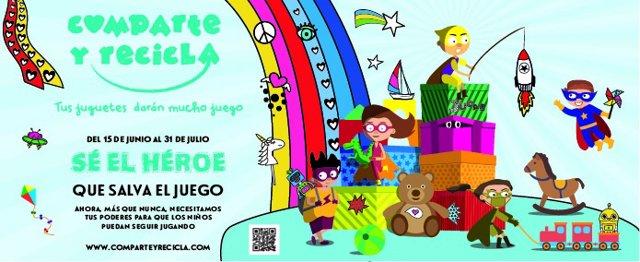 Comienza la séptima edición de la campaña solidaria de recogida de juguetes 'Comparte y Recicla'