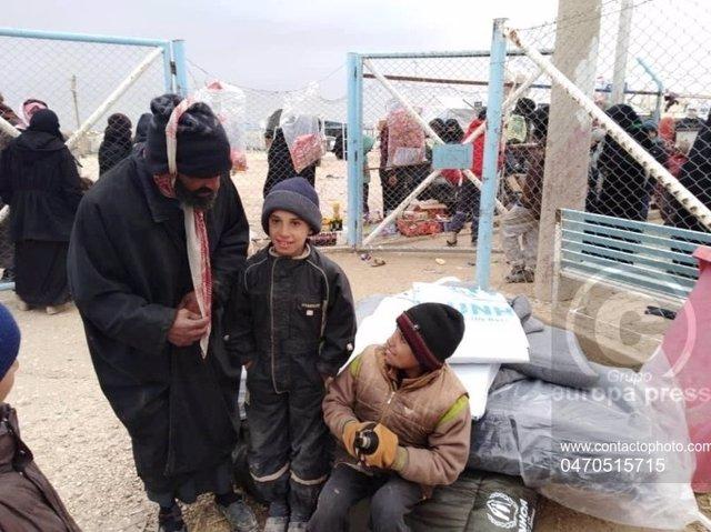 Siria.- Bachelet pide la repatriación de extranjeros atrapados en los campos par