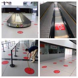 El Aeropuerto Internacional Región de Murcia se prepara para retomar las operaciones regulares