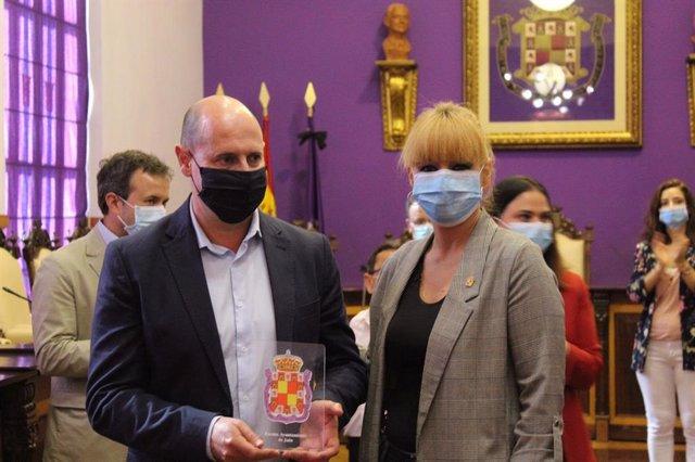 Reconocimiento del Ayuntamiento a la Diputación de Jaén por su colaboración durante la pandemia