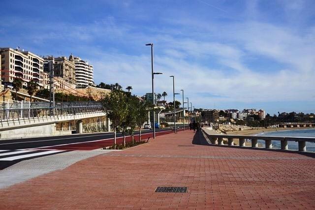 El Passeig Marítim del Miracle de Tarragona