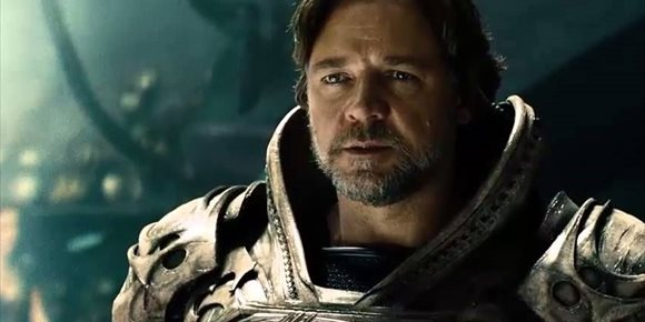 1. Jor-El (Russell Crowe) también estará en Liga de la Justicia de Zack Snyder