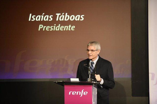 El president de Renfe, Isaías Táboas